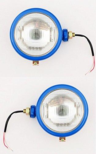 BAJATO 2000 3000 4000 5000 7000 Tractor Blue Head Lamp Set (Lh+Rh)- 11000303T ()