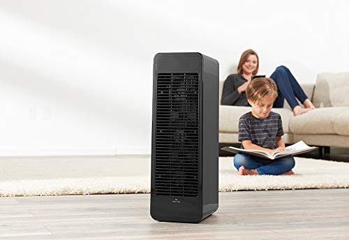 T&T Ionic Comfort Air Purifier - Black