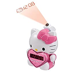 HKT2064 - HELLO KITTY KT2064 AM FM Projection Alarm Clock Radio