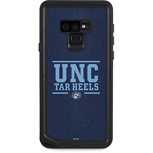 Skinit University of North Carolina Galaxy Note 9 Waterproof Case - UNC Tar Heels Design - Sweat-Proof, Snow-Proof, Dirt-Proof, Dust-Proof Phone Cover