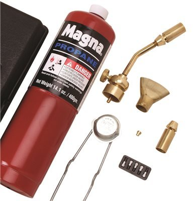 Magna Industries Inc MT 700 2487676 Mag-Torch Deluxe 7 Piece Propane Torch Kit, 3 Per Box