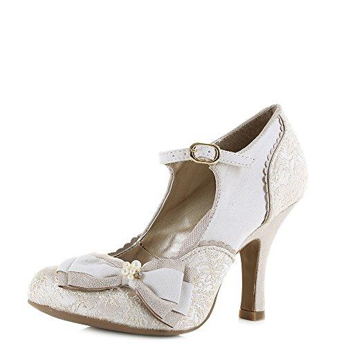 Gold Cream Sandales Shoo Femme Maria Compensées Ruby wnvxAOA