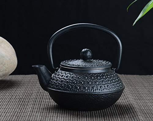 BeesClover Big rain Drop cast Iron teapot 300ml Show