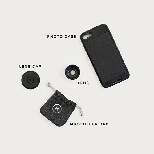 iPhone 6 Plus Case with Telephoto Lens Kit || Moment Black Canvas Photo Case plus Tele Lens || Best iphone zoom attachment lens with thin protective case. by Moment (Image #6)