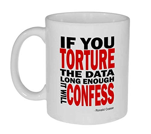 Torture the Data Funny Geek Coffee or Tea Mug