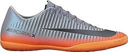 Men\'s Nike MercurialX Victory VI CR7 (IC) Indoor Soccer Cleat Cool Grey/Metallic Hematite/Wolf Grey Size 8 M US
