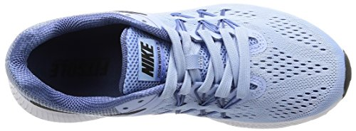NIKE Womens Zoom Winflo 3 Running Shoe Aluminum/Black/Blue Moon/Polar fythTyvSRe