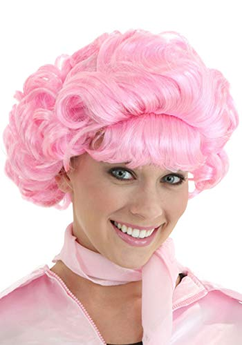 (Fun Costumes Frenchie Grease Movie Pink Hair Wig)