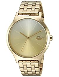 Lacoste Women's 'Nikita' Quartz and Stainless-Steel Casual Watch, Color:Gold-Toned (Model: 2000995)
