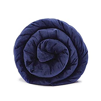 Image of LAVEDER Plush Weighted Blanket Adults (60'x80',20lbs) for Queen King Size Bed | Luxury Minky Warm Heavy Blankets Winter | Soft Velvet with Premium Glass Beads LAVEDER B07YYVFLS4 Weighted Blankets