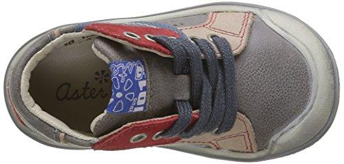 Aster Dribble - Zapatos de primeros pasos Bebé-Niñas Gris - Gris (Gris Foncé)