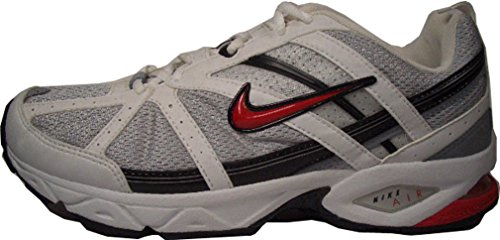 Nike Air Direct 315464–062Scarpe da corsa running bianco/grigio/rosso dimensioni Euro 42,5/US 9/UK 8/27cm