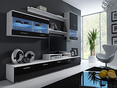 Tv Stand Modern Designs : Blythe modern asymmetrical tv stand affordable modern design
