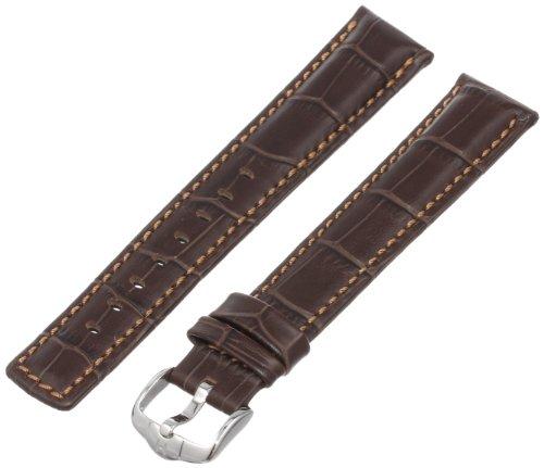 Hirsch 025282-10-20 20 -mm  Genuine Calfskin Watch Strap