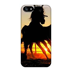 Case Cover For HTC One M8 Well-designed Hard Horse Wallpaper Dark Horse Protector