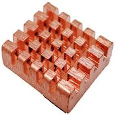 Akust Copper Chip Heatsink 0.51x0.47x0.20 Inch 12 PCS