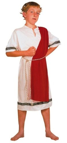 [Julius Caesar Roman Childs Fancy Dress Costume M 134cms] (Childrens Fancy Dress Costumes Uk)