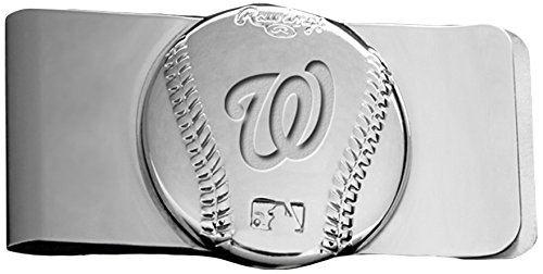 Rawlings Sports Accessories Wallet (MLB Washington Nationals Engraved Money Clip)