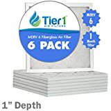 20x20x1 MERV 6 Filtrete Comparable Air Filter - 6PK