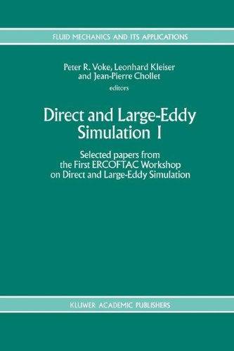 Direct and Large-Eddy Simulation I: Selected papers from the First ERCOFTAC Workshop on Direct and Large-Eddy Simulation
