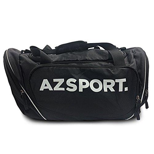 AZSPORT Gym Bag Black