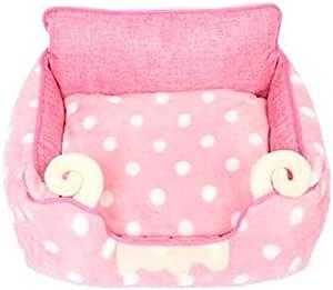Pet Detachable Cat Dog Bed Four Seasons Pet Bed Cat Dog Pad Summer Kennel Cat Nest Bed Pink