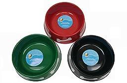 Round Plastic Pet Bowls, 9¾\