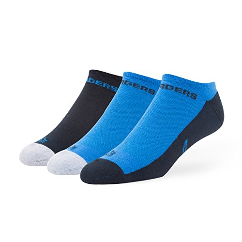 San Diego Chargers Stocking - NFL San Diego Chargers '47 Gait Motion Team Color No Show Socks, Assorted Team Colors, Large (Men's 9-13 / Women's 10-12), 3-Pack