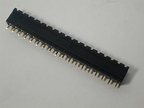 (Phoenix Contact 1747595 18 Position Pluggable Terminal Block Header Black Gold Plated)