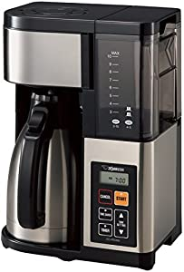 Zojirushi EC-YTC100XB Coffee Maker, 10 Cup, Stainless Steel/Black by Zojirushi