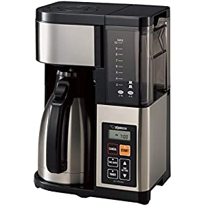 Zojirushi Coffee Maker, 10-Cup, Stainless Steel/Black 12