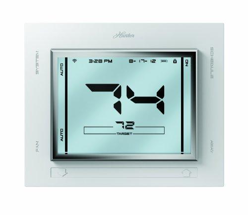 Hunter 44920 Universal Internet Thermostat, White (Ethernet Gateway Laptops)