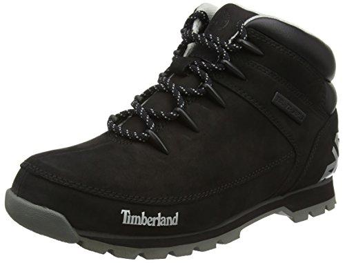 Timberland Eurosprint, Botines para Hombre Negro - negro