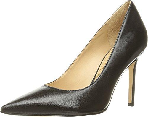 Sam Edelman Women's Hazel Dress Pump, Black Leather, 8.5 M US