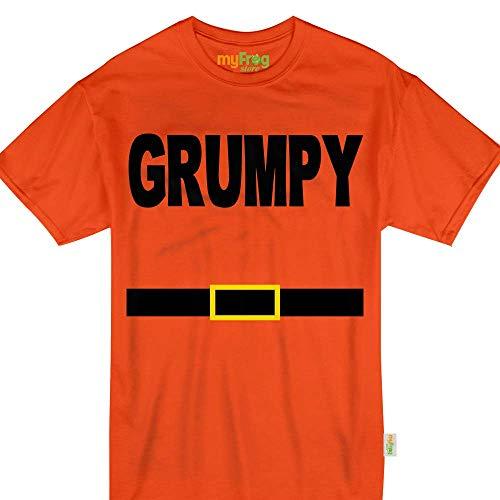 My Frog Store Grumpy Dwarf Halloween Family Matching Costume Tshirt -