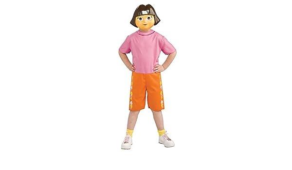 Costume licencia, diseño de dora la Exploradora, talla 4 a 6 años ...