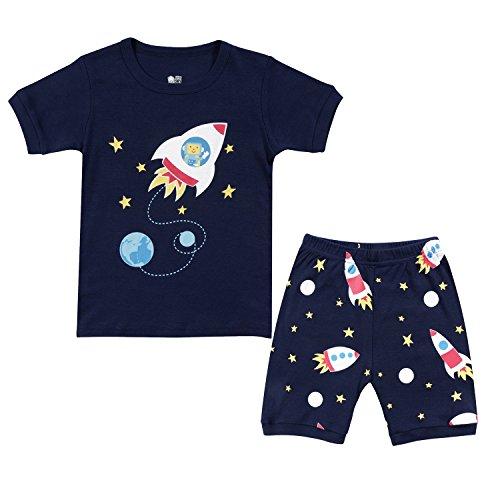 Tkala Fashion Christmas Boys Pajamas Children Clothes Set 100% Cotton Little Kids Pjs Sleepwear
