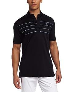 Travis Mathew Men's Highline Shirt, Black, Medium