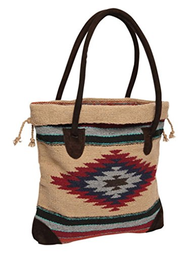 Southwest Boutique Mexican Aztec Tote Purse Bag Native American Western Style (Catalina)