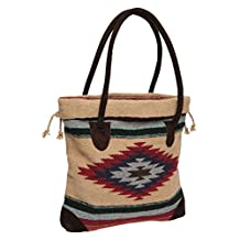 Southwest Boutique Mexican Aztec Tote Purse Bag Native American Western Style