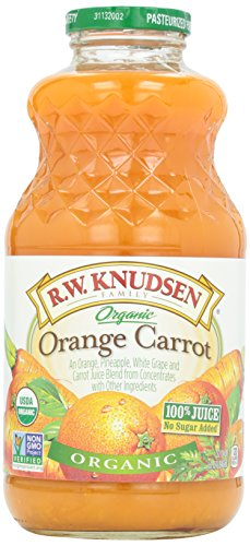 Knudsen, Juice, Orange Carrot, Organic, 1 Quart ()