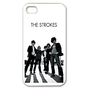 iPhone 4,4S The Strokes pattern design Phone Case HT12S17938