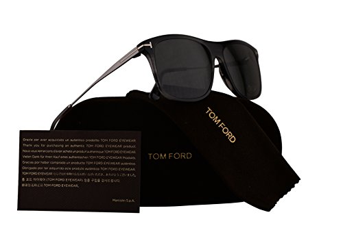 Tom Ford FT0588 Max-02 Sunglasses Grey w/Smoke Lens 20A - Jennifer Aniston Ford Tom Sunglasses