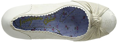 Irregular Choice Smartie Pants - Tacones Mujer blanco roto