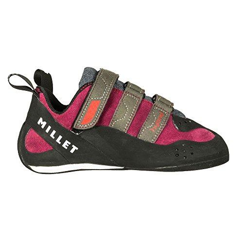 Millet Ld Hybrid 3d zapatos de escalada para mujer rojo