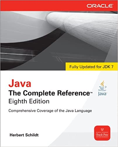 Java The Complete Reference 8th Edition Herbert Schildt