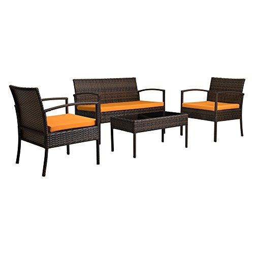 Thy hom the hom teaset 4 piece all weather patio for Hom patio furniture
