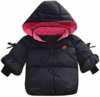 851c45e6504 FORESTIME Winter Baby Thicken Cotton Packable Down Coat Fleece Hoodie Jacket  Coat Cloak Winter Warm Outwear