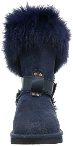 Australia Luxe Collettiva Donna Tsar Corta Pelliccia Di Volpe Pelle Di Pecora Invernale
