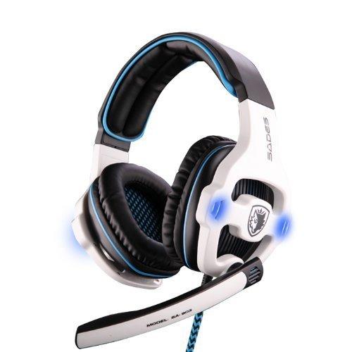 Sades-Stereo-71-Surround-Pro-USB-Gaming-Headset-with-Mic-Headband-Headphone-White